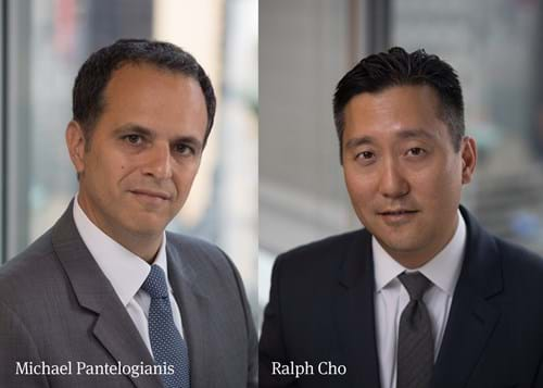 Mike Pantelogianis and Ralph Cho of Investec